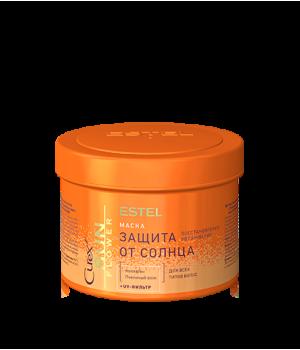 CUREX SUN FLOWER Маска для волос восстановление и защита с UV-фильтром, 500 мл