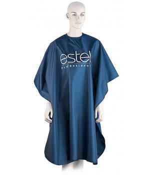 ESTEL Пеньюар парикм. с логотипом (синий)
