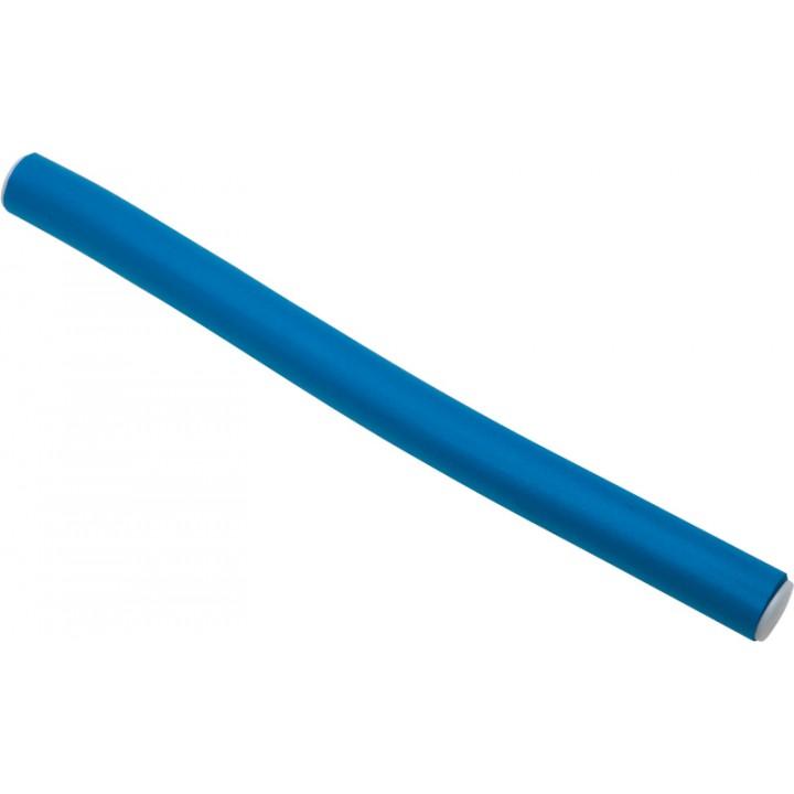 DEWAL Бигуди-бумеранги синие (14мм*180мм, 10 шт)