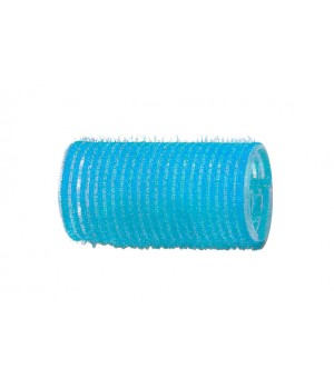DEWAL Бигуди-липучки 28мм голубые 12шт//R-VTR6