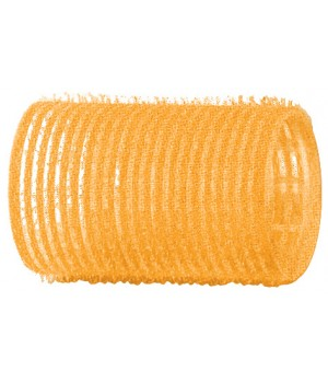 DEWAL Бигуди-липучки 32мм желтые 12шт//R-VTR5