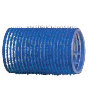 DEWAL Бигуди-липучки синие (40мм, 12шт)