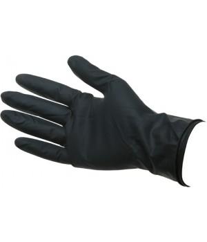 """DEWAL Перчатки латекс черные 2шт """"M"""","""
