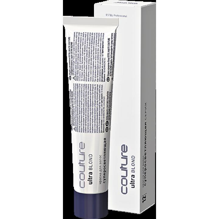 HC 12/36 Краска для волос HAUTER COUTURE ESTEL тон Золотисто - фиолетовый блондин ультра