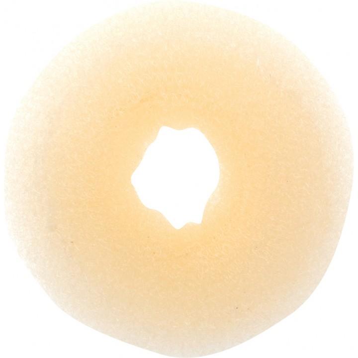 DEWAL Валик для волос круглый (блондин, сетка)
