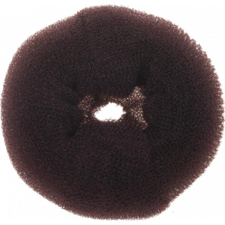 DEWAL Валик круглый коричневый, губка //HO-5117L Brown