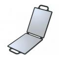 DEWAL Зеркало заднего вида 23*30см. черное, складное //NB00035