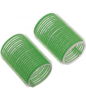 DEWAL Бигуди-липучки 20мм зеленые 12шт//RVTR-8