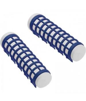 DEWAL Бигуди термо 17*68мм синие 6шт/уп//DBTR17