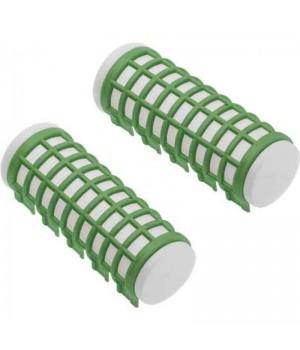 DEWAL Бигуди термо 23*68мм зеленые 6шт/уп //DBTR23