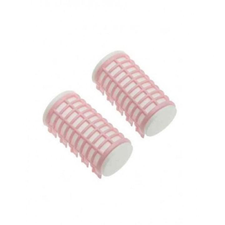 DEWAL Бигуди термо 32*68мм розовые 6шт/уп //DBTR32