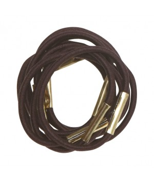 DEWAL Резинки д.волос коричневые мини 10шт//RE028