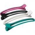DEWAL Зажим цветной, пластик 12см 4шт/уп//CL2410