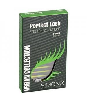 IRISK Ресницы на ленте Simona Perfect Lash, 12 линий, Ø0,20 С-изгиб, MIX
