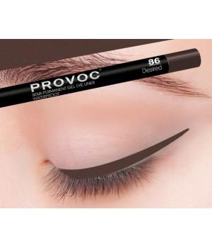 Provoc Gel Eye Liner 86 Desired Гелевая подводка в карандаше для глаз