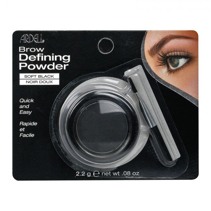 Ardell Brow Defining Powder Soft Black Пудра оттеняющая для бровей светло-черная 2,2г//75016
