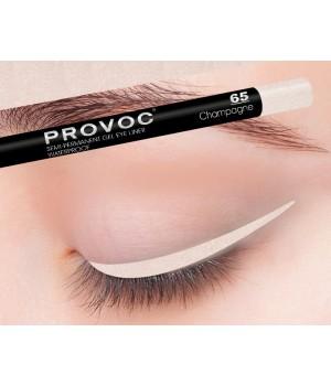 Provoc Gel Eye Liner 65 Champagne Гелевая подводка в карандаше для глаз