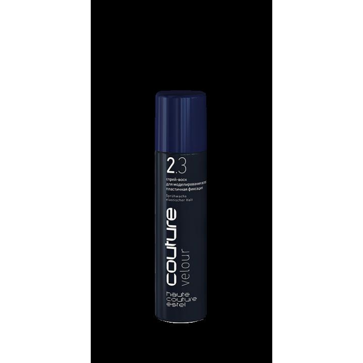 Спрей-воск для моделирования волос VELOUR HCE пластичная фиксация, 100 мл