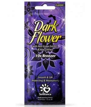 SolBianca Dark Flower Крем для загара в солярии 10 бронзаторов, 15мл