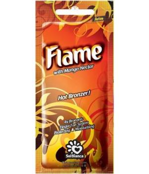 SolBianca Flame Крем для загара в солярии 4 бронзатора, тингл 15мл
