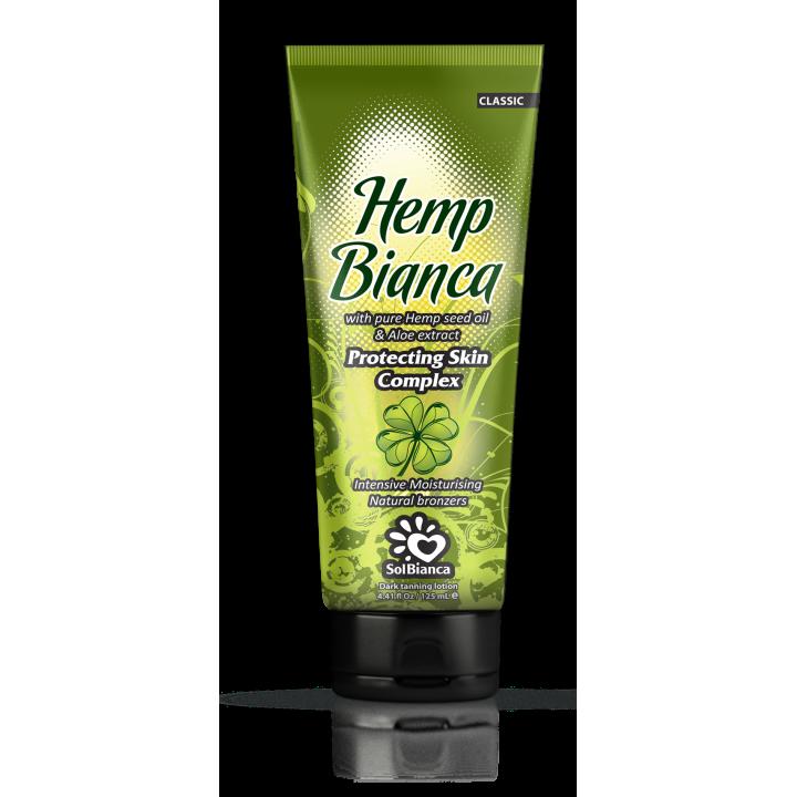 SolBianca Hemp Bianca Крем для загара в солярии 2 бронзатора, 125 мл