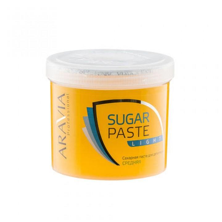"""Сахарная паста для депиляции """"Легкая"""" средней консистенции ARAVIA Professional, 750гр"""