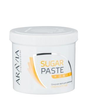 """ARAVIA Professional Сахарная паста """"Медовая"""" (мягкая) 750 гр"""