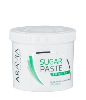 """Сахарная паста для депиляции """"Тропическая"""" средней консистенции ARAVIA Professional, 750гр."""
