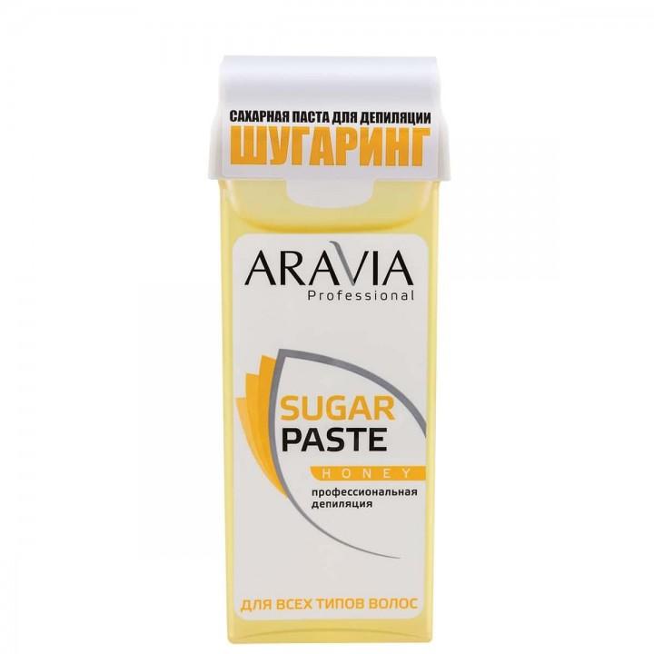 """""""ARAVIA Professional"""" Сахарная паста для депиляции в картридже """"Медовая"""" очень мягкой консистенции,"""