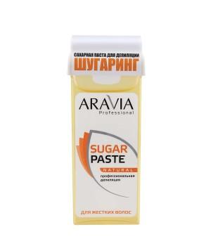 """""""ARAVIA Professional"""" Сахарная паста для депиляции в картридже """"Натуральная"""" мягкой консистенции, 15"""