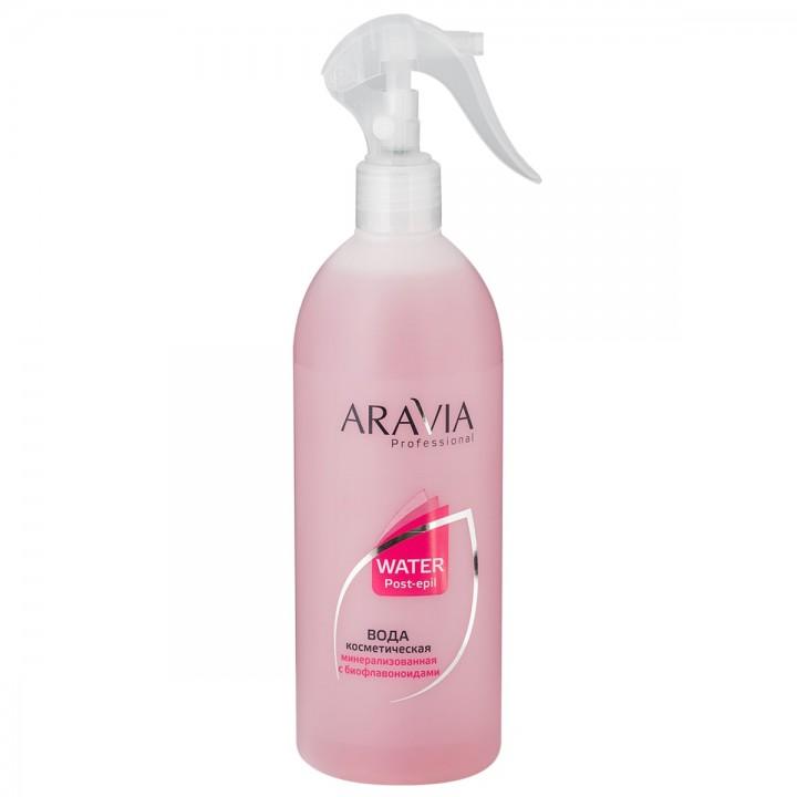 """""""ARAVIA Professional"""" Вода косметическая минерализованная с биофлавоноидами, 500 мл"""