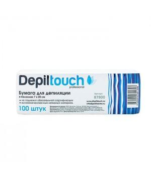 Depiltouch Бумага для депиляции 7*20 см (100 шт.)