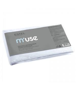 ESTEL M'USE Пеньюар одноразовый п/э для парикмахерских работ (50 шт.) (120*160)