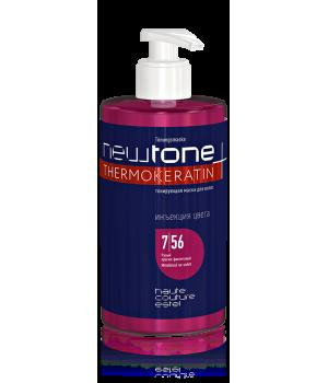 Тонирующая маска для волос NEWTONE ESTEL HAUTE COUTURE 7/56 Русый красно-фиолетовый 435мл