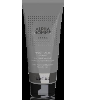 ALPHA HOMME Крем-паста для волос с матовым эффектом 100 г