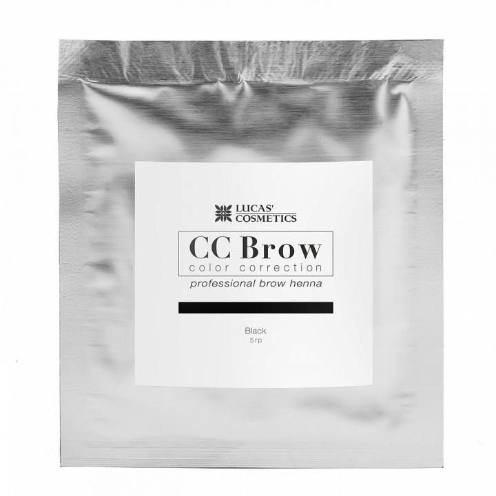 CC Brow black Хна для бровей (цвет черный в саше 5гр)