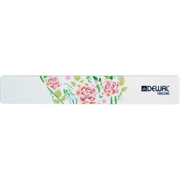 DEWAL Пилка широкая Design Edition (180/240, 18 см)