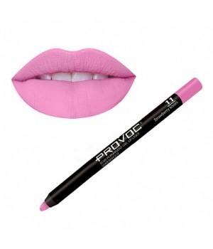 Provoc Gel Lip Liner 11 Strawberry Kisses Гелевая подводка в карандаше для губ,