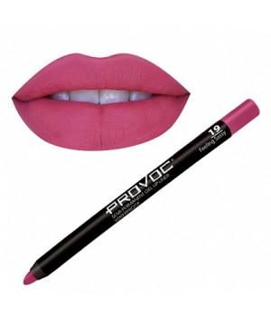 Provoc Gel Lip Liner 19 Feeling Sassy Гелевая подводка в карандаше для губ