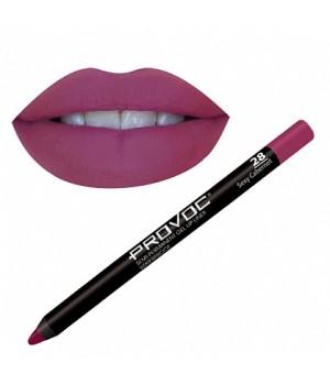 Provoc Gel Lip Liner 28 Sexy Cabernet Гелевая подводка в карандаше для губ,
