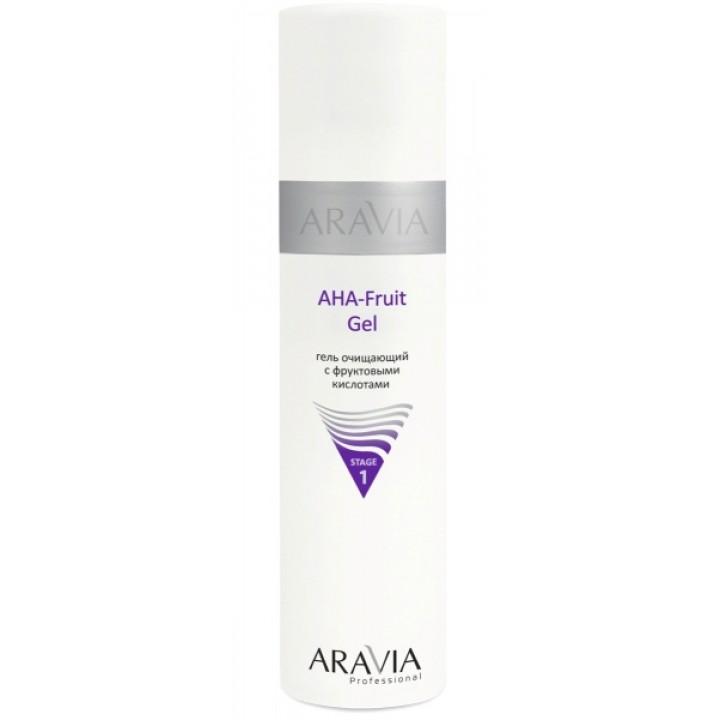 ARAVIA Professional Гель очищающий с фруктовыми кислотами AHA - Fruit Gel (250 мл)
