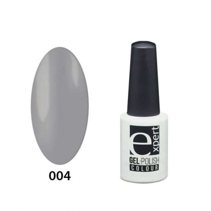 004 «expert» гель-лак цветной, Gray (серый), 5мл