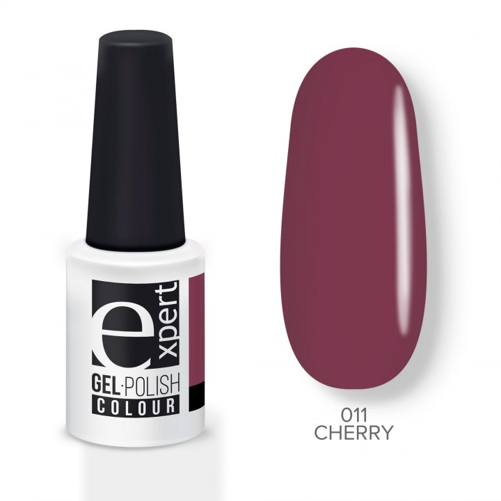 011 «expert» гель-лак цветной, Сherry (вишневый), 5мл