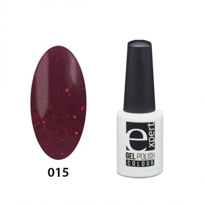 015 «expert» гель-лак цветной, Berry Jam (малиновый), 5мл