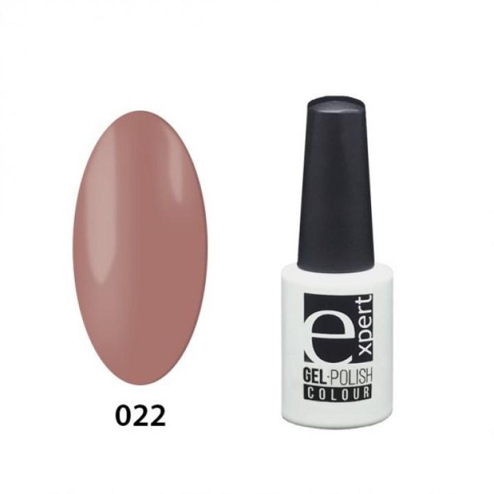 022 «expert» гель-лак цветной, Rosy Brown (коричнево-розовый), 5мл