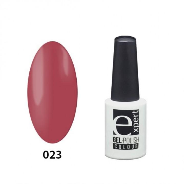 023 «expert» гель-лак цветной, Amaranth (амарантовый красный), 5мл
