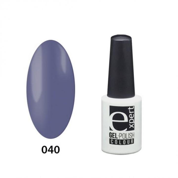 040 «expert» гель-лак цветной, Jeans Blue (синий деним), 5мл