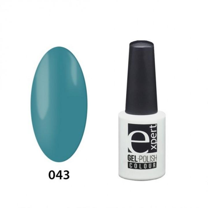 043 «expert» гель-лак цветной, Sea Wave (морской волны), 5мл