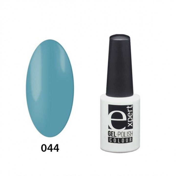 044 «expert» гель-лак цветной, Paradise Bay (бирюзовый), 5мл