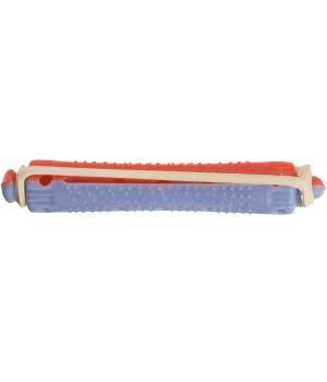 DEWAL Коклюшки красно-голубые ,короткие, d 9 мм 12 шт/уп